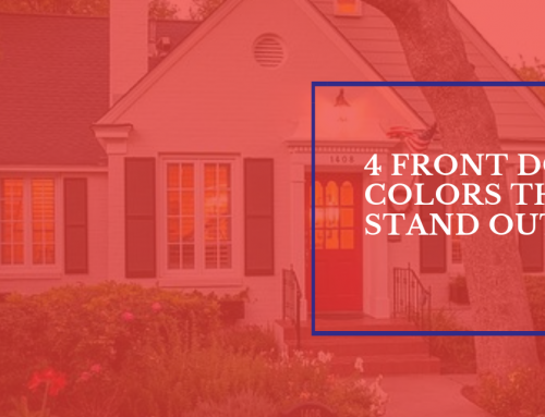 4 Front Door Colors That Stand Out