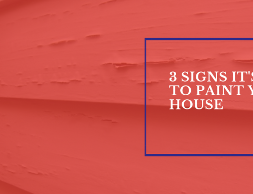 3 Signs It's Time to Paint Your House